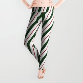 Peppermint Candy Cane Leggings