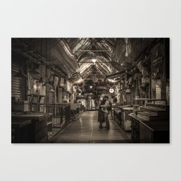 Shuk Story-Part 5 (a love story) Canvas Print