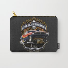 Plymouth Barracuda Road Burn - Muscle Car Carry-All Pouch