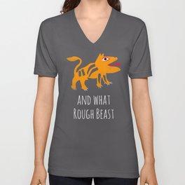 What Rough Beast Unisex V-Neck