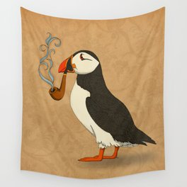 Puffin' Wall Tapestry