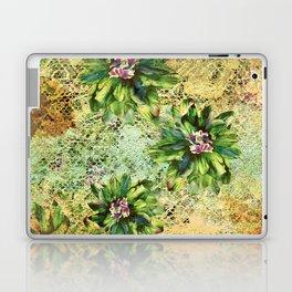 Green Flowers of the Grandmother Garden! Laptop & iPad Skin