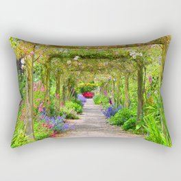 Flowers a Plenty Rectangular Pillow