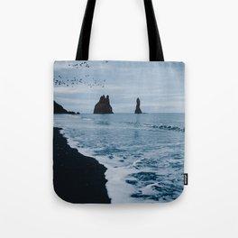 Iceland's Black Sand Beach Tote Bag