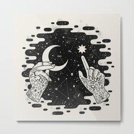 Look to the Skies Metal Print