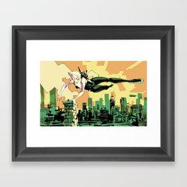Spider-Gwen Framed Art Print