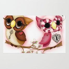 So In Love Hooties - Owl iPhone Case Rug
