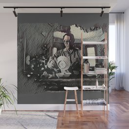 Dishes Wall Mural