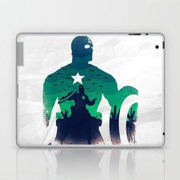 captain in the war Laptop & iPad Skin