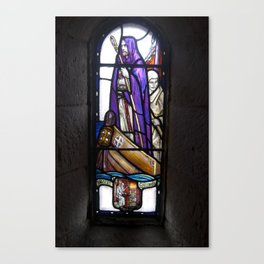 St. Columba in St. Margaret's Chapel Canvas Print
