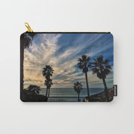 Beach Palm Trees Carry-All Pouch