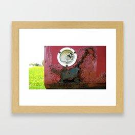Sammy's Garage Framed Art Print