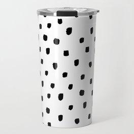 DOTTY BLACK Travel Mug