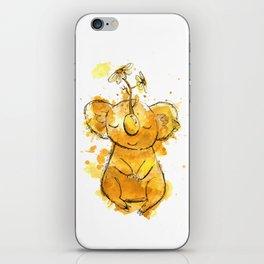 Koala Chamomile Watercolour Illustration iPhone Skin
