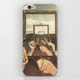 Empty Frame iPhone Skin
