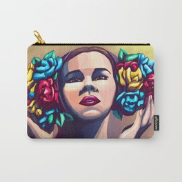 Bouquets Carry-All Pouch