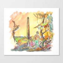 Obelisco Canvas Print