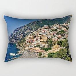 Positano's coast Rectangular Pillow