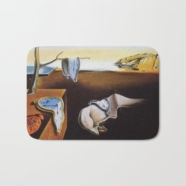 THE PERSISTENCE OF MEMORY - SALVADOR DALI Bath Mat