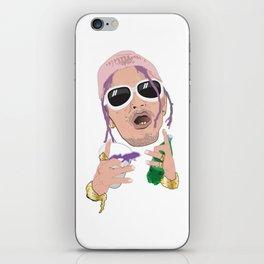Lean Rapper iPhone Skin