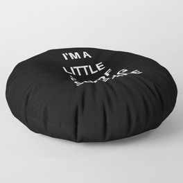 I'm A Little Ray of Fucking Sunshine Floor Pillow