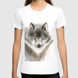 Wolf portrait T-shirt