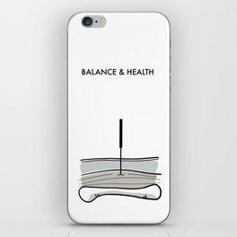 Acupuncture - Balance & Health iPhone Skin