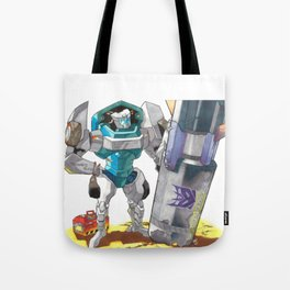 Bomb Disposal Tailgate Tote Bag