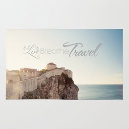 Live Breathe Travel - Dubrovnik, Croatia Rug