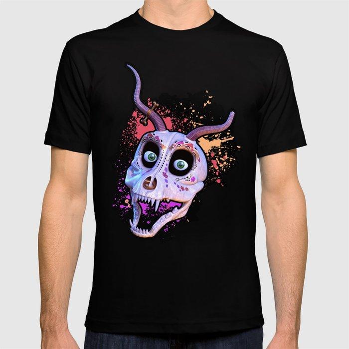 Ankou - colorful head T-shirt