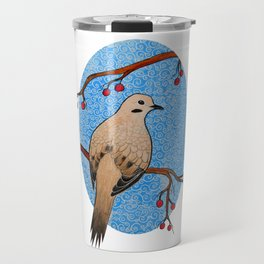 Good Mourning, Dove (With White) Travel Mug