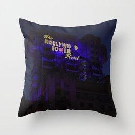 The Twilight Zone: Tower Of Terror Throw Pillow
