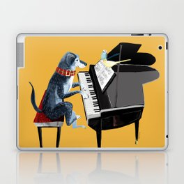 Piano lesson ( Doggy Art ) Laptop & iPad Skin