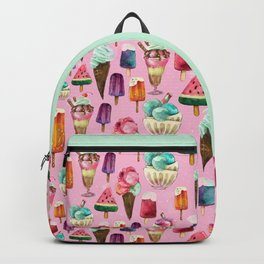 ice-cream pattern Backpack