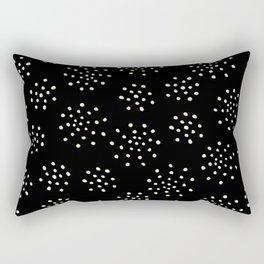 BLACK DALMATIAN Rectangular Pillow