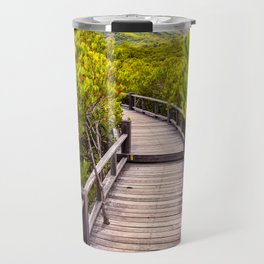 Mangrove Forest Sunset Travel Mug