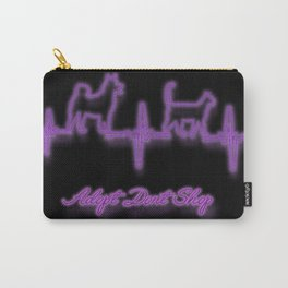 Adopt Dont Shop Neon Carry-All Pouch
