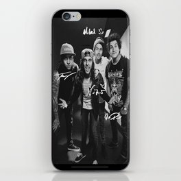 Pierce The Veil - Vic Fuentes, Mike Fuentes, Tony Perry & Jaime Preciado iPhone Skin