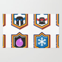 Clash Royale Deck Rug