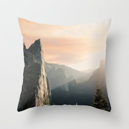 Mountains landscape 4 Throw Pillow