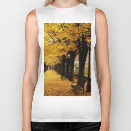 Autumn's Gold Biker Tank