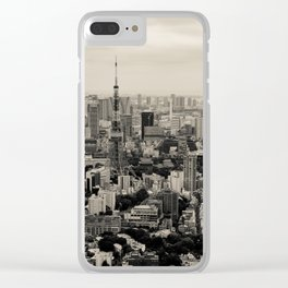 Sepia Tokyo Clear iPhone Case