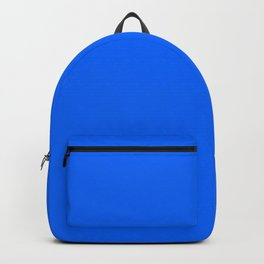 Unfinished ~ Bright Blue Backpack