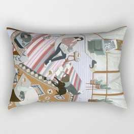 Sisters Room Rectangular Pillow