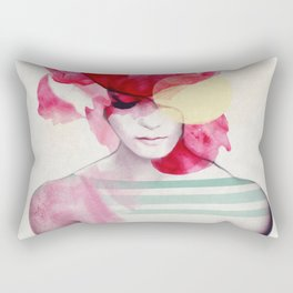 Bright Pink - Part 2 Rectangular Pillow