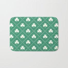 SHAMROCK ON! - emerald Bath Mat