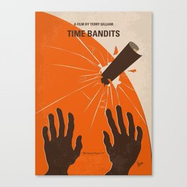 No956 My Time Bandits minimal movie poster Canvas Print
