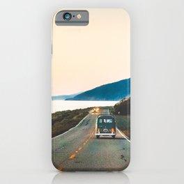 VW Bus in Big Sur iPhone Case