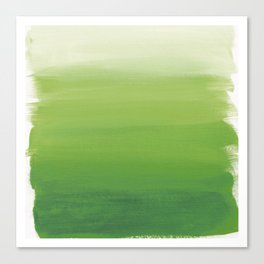 Greens No. 1 Canvas Print