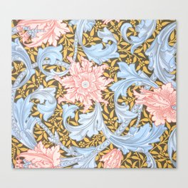 "William Morris ""Single stem"" 1. Canvas Print"